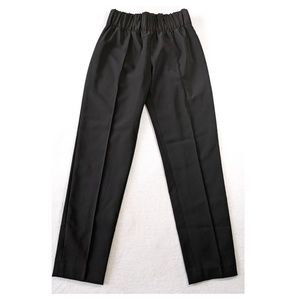 BCBG MAXAZRIA Maria Crepe High-Rise Pants